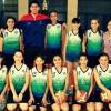 Fecha del básquet femenino en Olimpia
