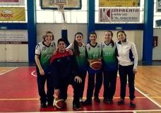 La Sub 14 de básquet femenino a instancia provincial