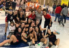 Paula Budini campeona con la U15 de Rosario