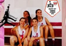 Continúa el torneo de 3×3 en Deportivo Atenas