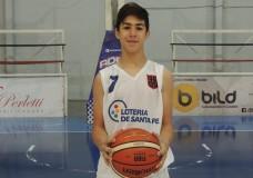 Bautista Jordán y el U13 de Santa Fe rumbo al Argentino de San Luis