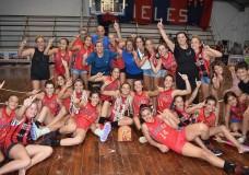 Las pibas de Atlético Elortondo, campeonas invictas en U18