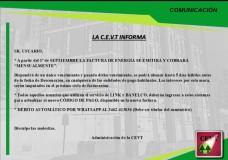 La CEVT informa: