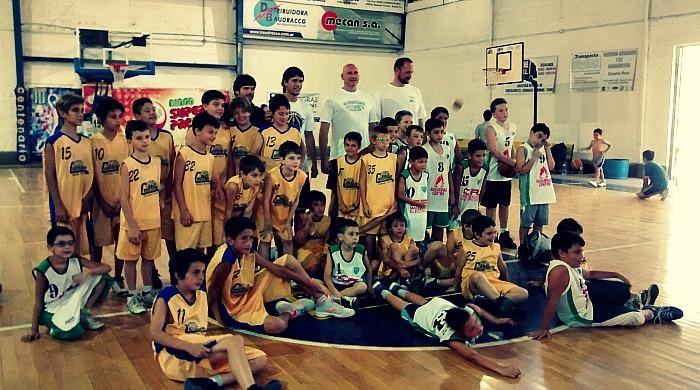 encuentro basquet centenario
