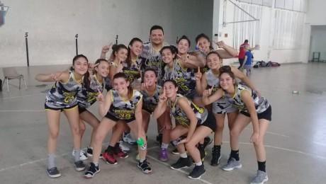 Las U16 de Peñarol campeonas