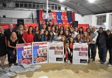 'Las más campeonas' del básquet femenino fueron distinguidas en Elortondo