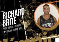 Richard Brite jugará en Ciclista Olímpico